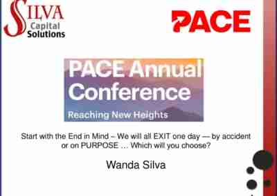 Wanda Silva | Start with the End in Mind – We will all EXIT one day — by accident or on PURPOSE … Which will you choose?