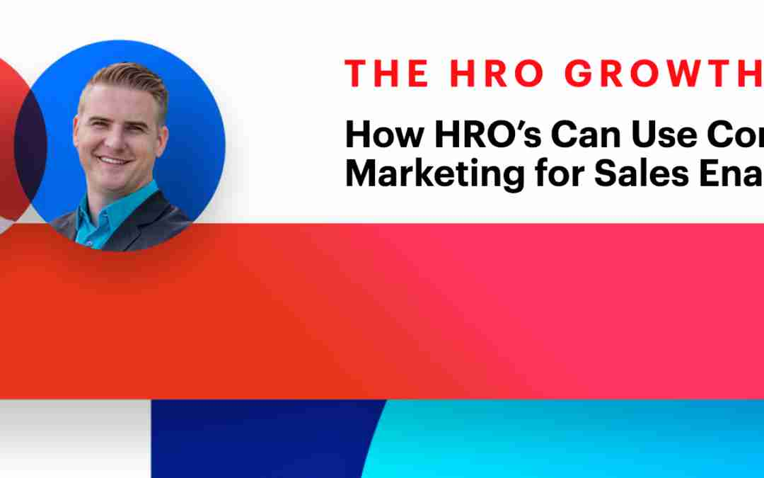 [Podcast] How HRO's Can Use Conversational Marketing for Sales Enablement