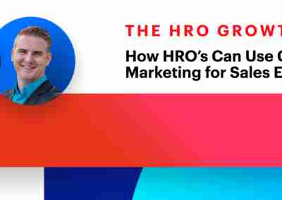 How HRO's Can Use Conversational Marketing for Sales Enablement