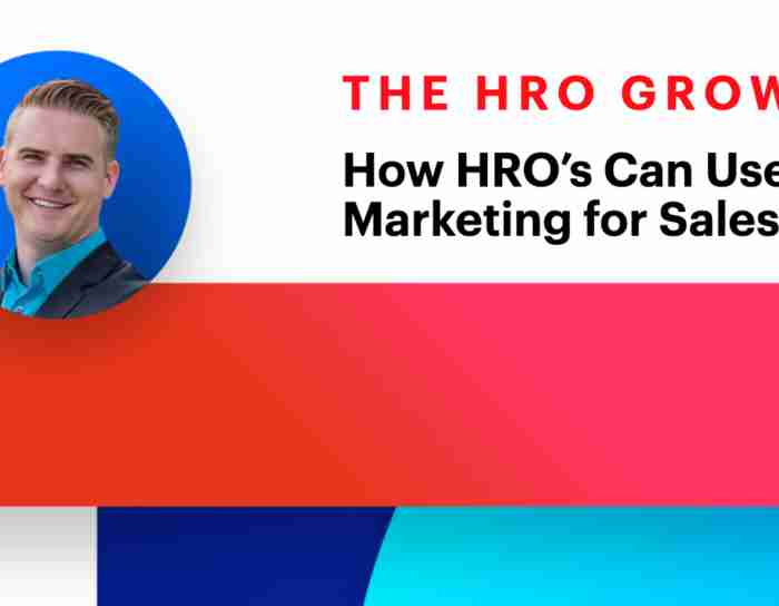 HRO Growth Show | How HRO's Can Use Conversational Marketing for Sales Enablement | Episode #2
